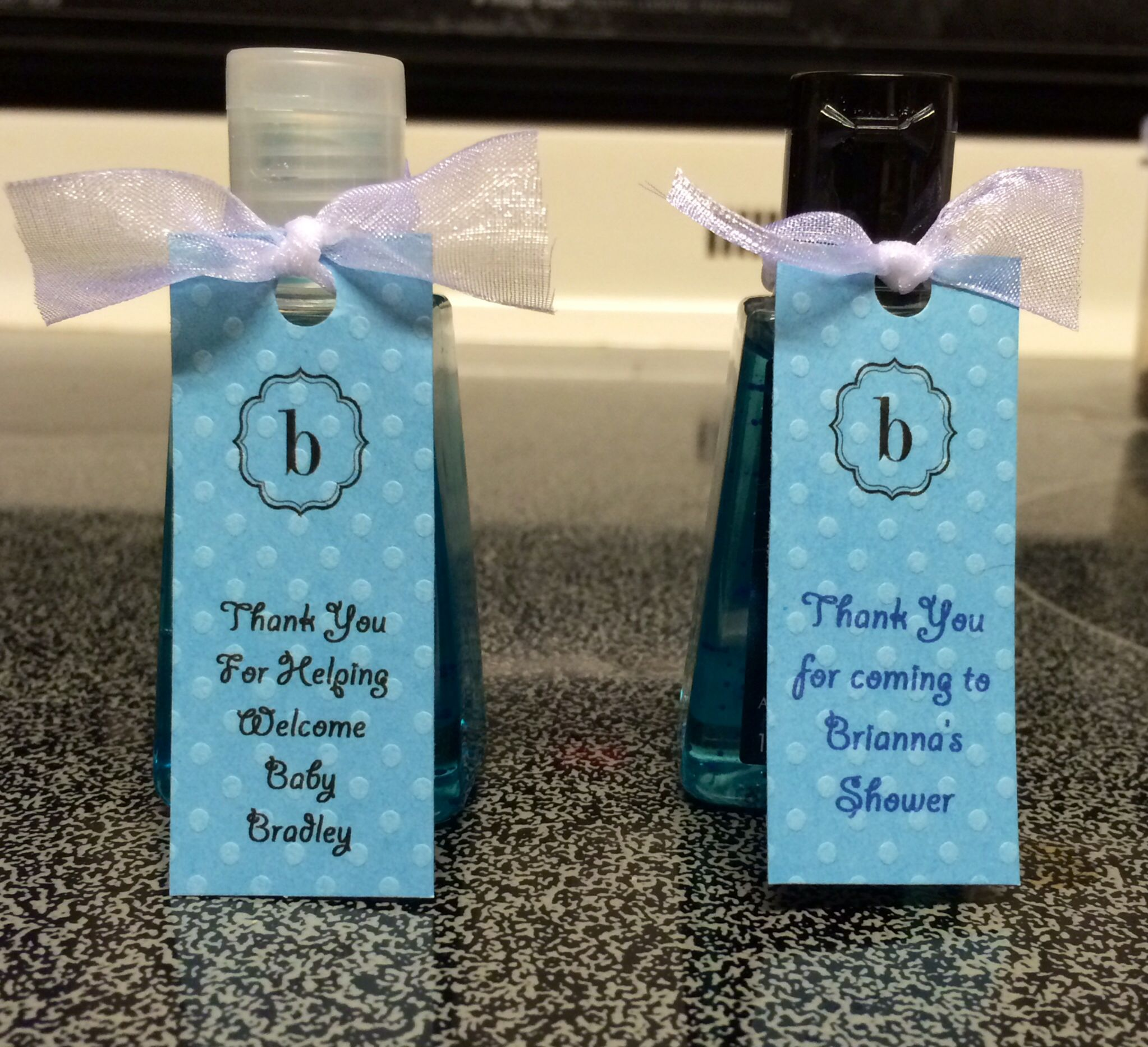 Thanks For Coming Party Favors Hand Sanitizers From Bath Body