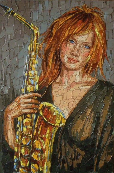 modernos musica 004Mosaic Art Via Mosaico Vega