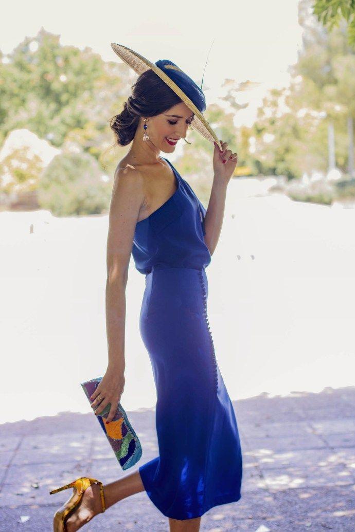 418f01cbd Look invitada conjunto falda blusa tocado | Promoción Colegio 50 ...