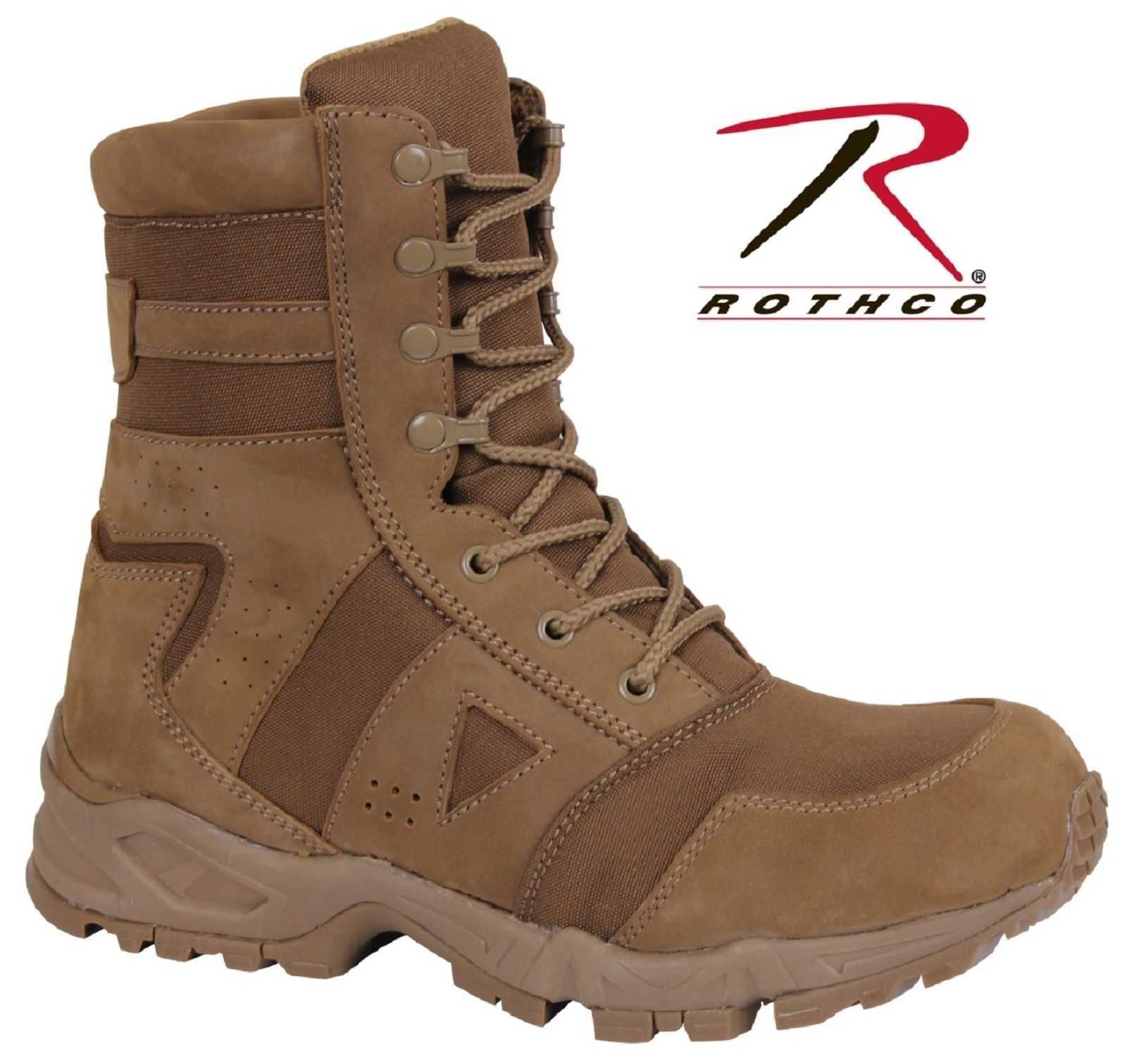 Coyote Brown Ar 670 1 Forced Entry Tactical Boots Completely Compliant To Military Regulation Ar 670 1 Da Pam 670 1 Section 20 3 Boot Standards Iso 9001 Cert