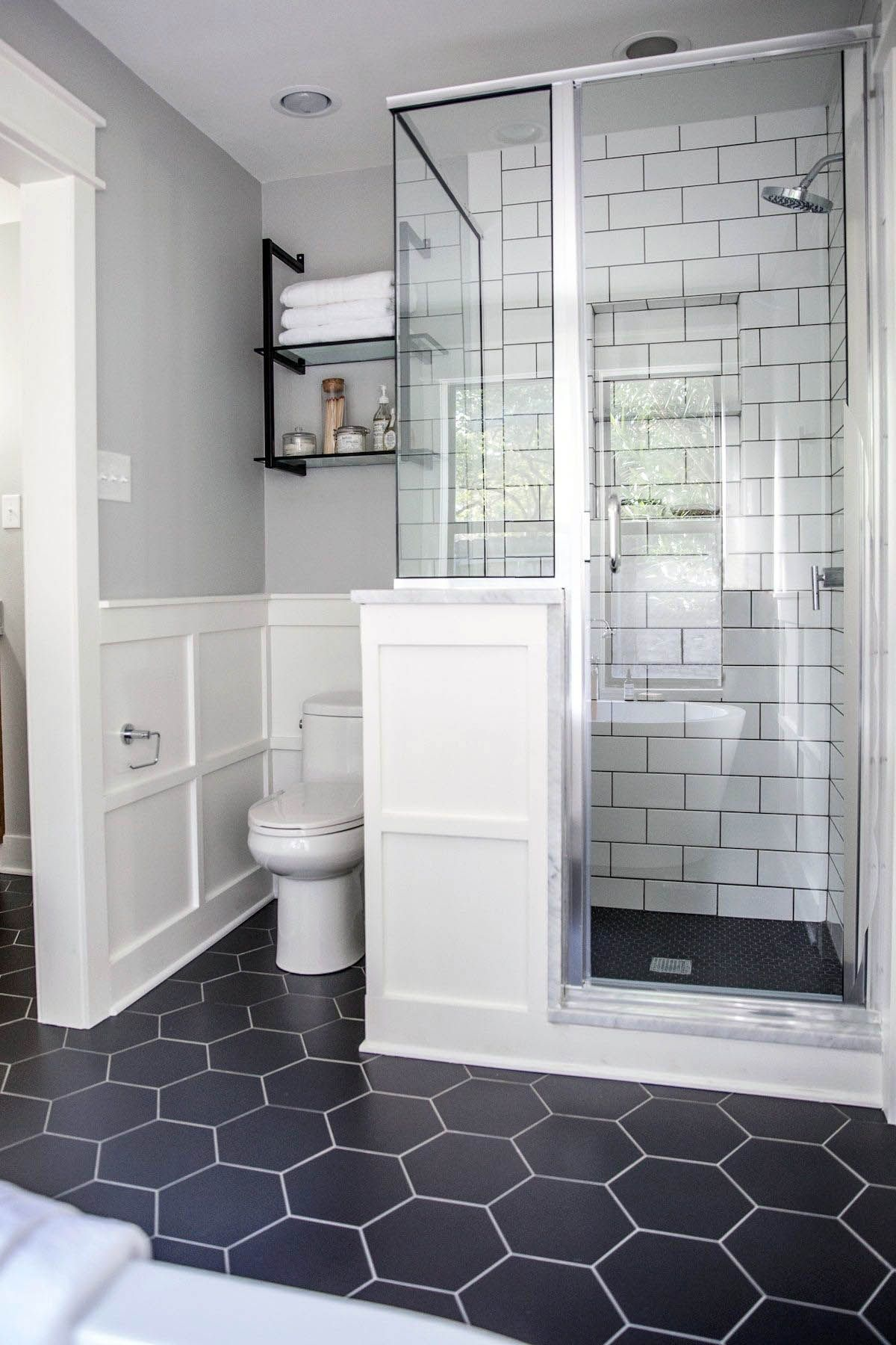 Excellent Gray And White Shower Tile Ideas Only On This Page Bathroom Remodel Master Small Bathroom Remodel Master Bathroom Renovation