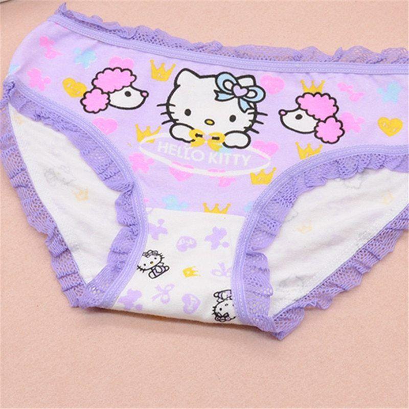 6pcs Baby Girls Underpants Soft Cotton Panties Kids Child Underwear Short Briefs