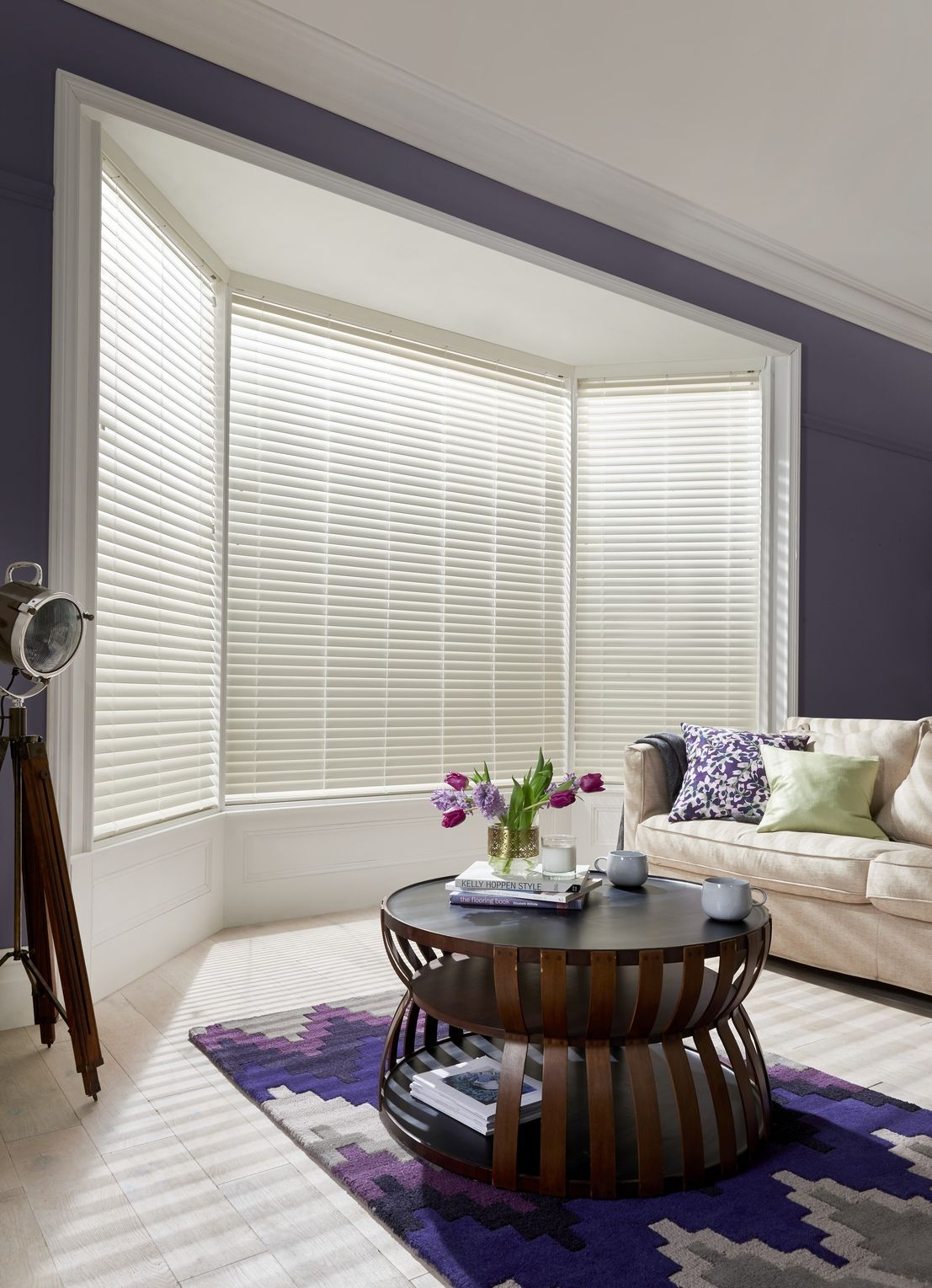 Create a light and spacious feel with beautiful made-to-measure Bone ...