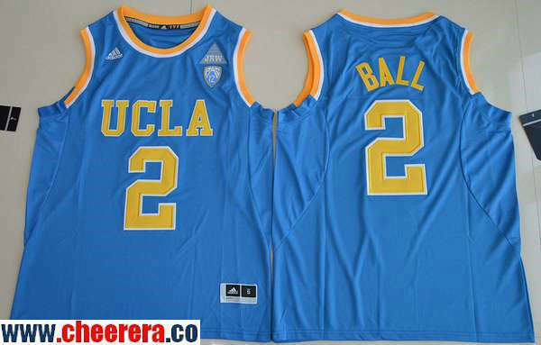 mens ucla bruins 2 lonzo ball light blue college basketball 2017 adidas swingman stitched ncaa