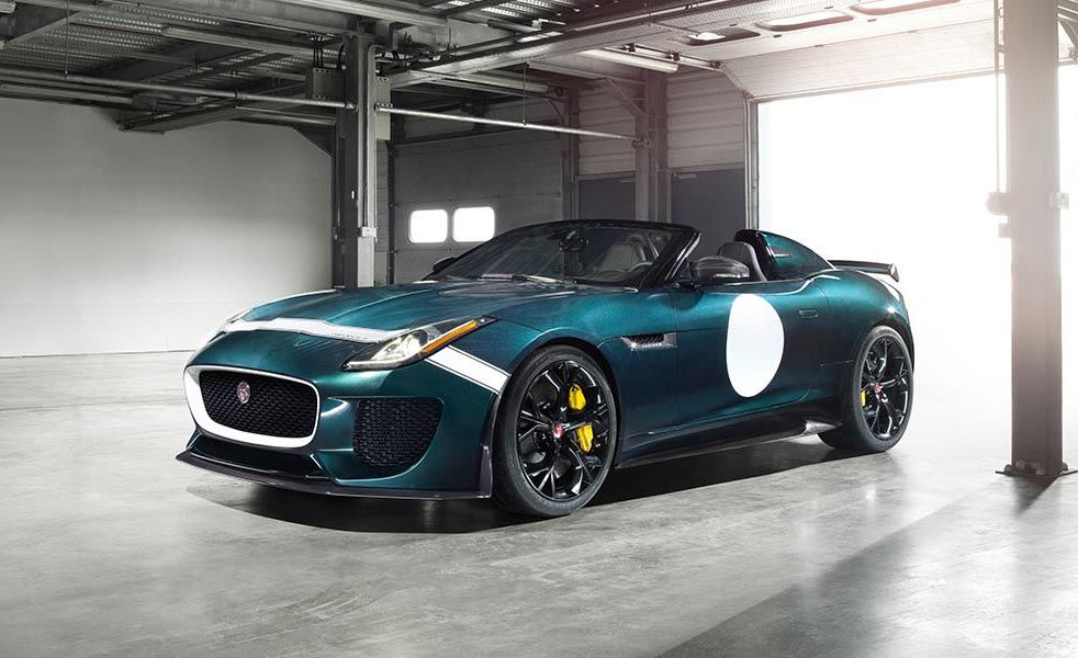 The Jaguar F Type Project 7 Is The Fastest Road Going Jag Ever