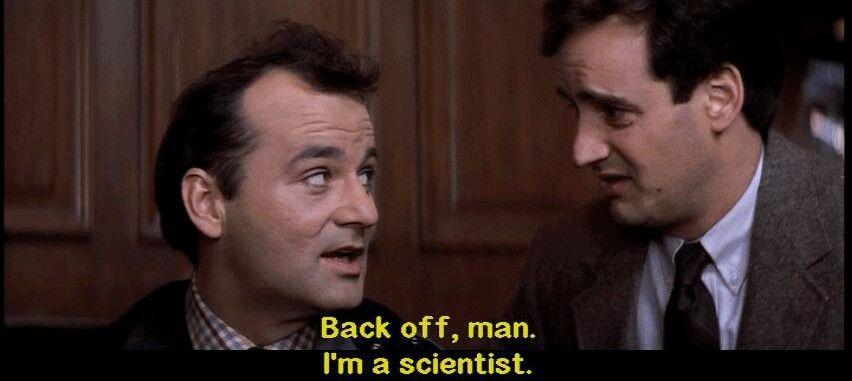 Ghostbusters Ghostbusters Quotes Ghostbusters Back Off