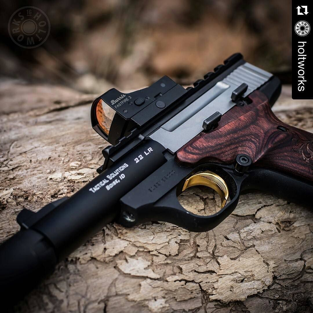 Repost @holtworks My suppressed Buckmark project is coming