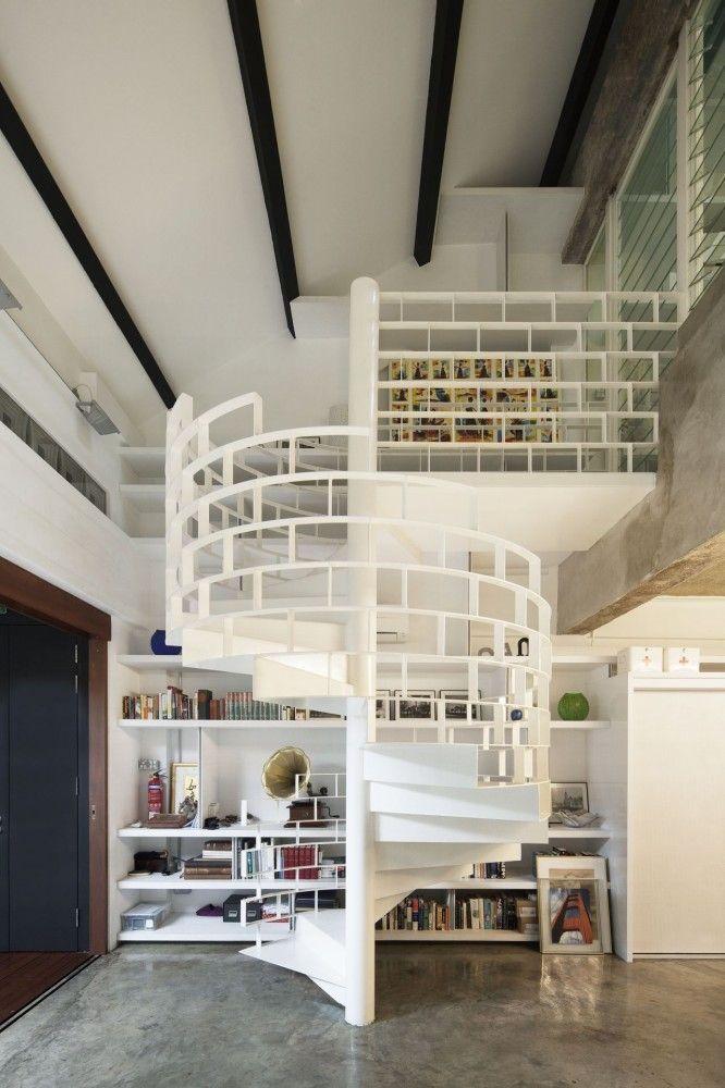 The Brick Loft / FARM Architect Lake Pinterest Lofts