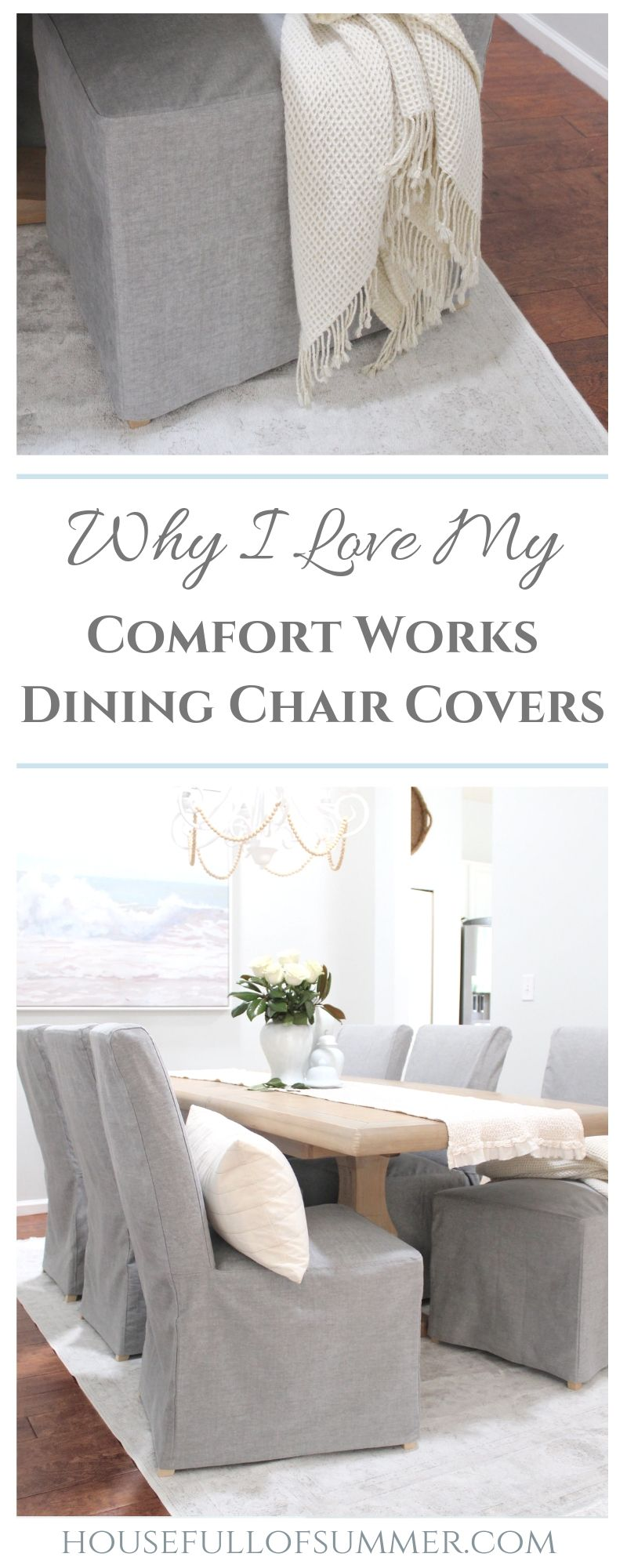 Why I Love My Comfort Works Dining Chair Covers Dining Room