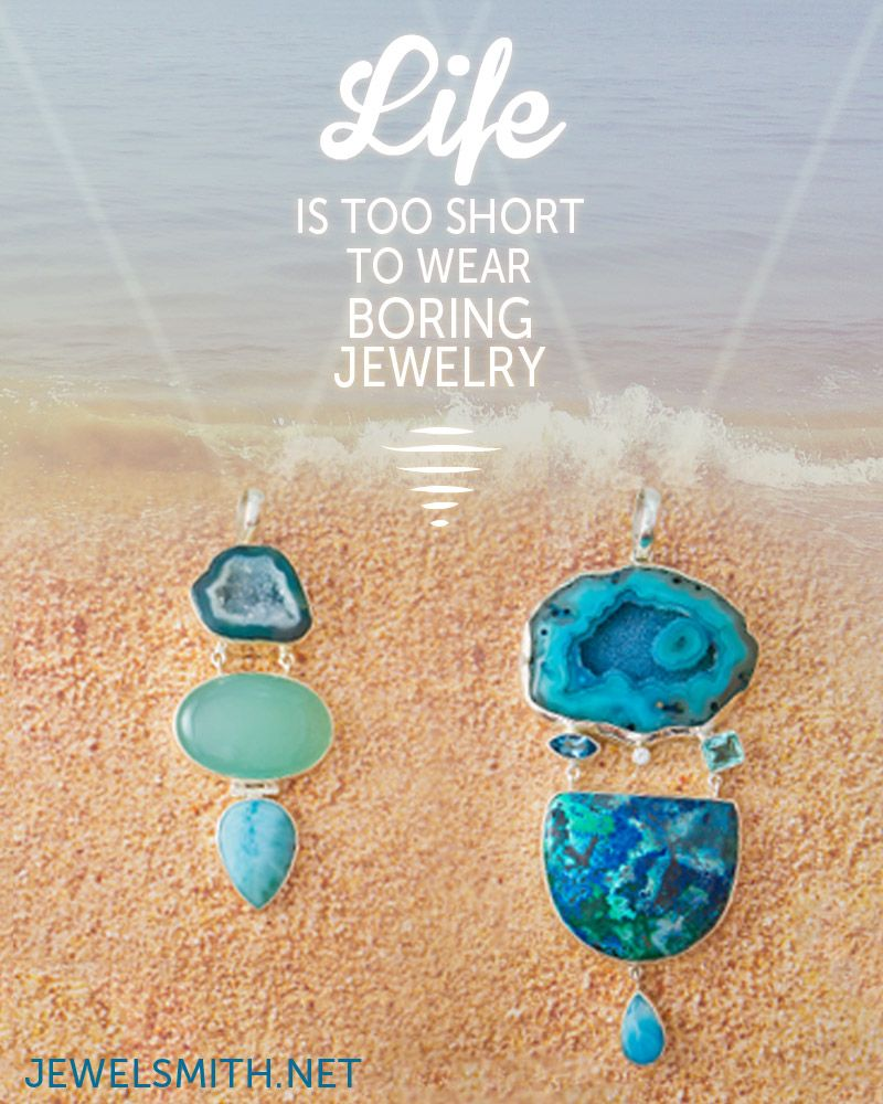 """#Unusual #Jewelry is the Best Jewelry!   """"Life is too short to wear boring jewelry!""""   Find these and more buried treasures with #JewelSmithAZ at jewelsmith.net"""