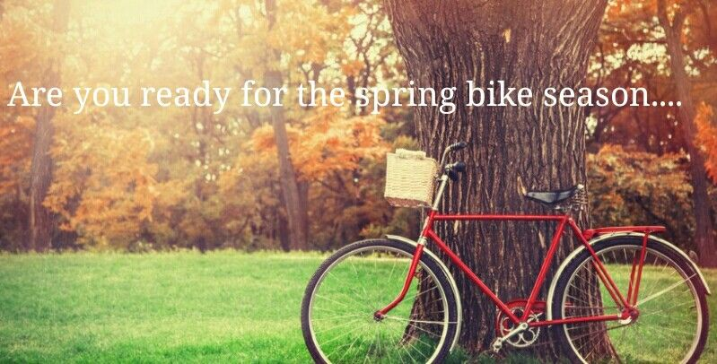 Image result for spring is coming, are you ready for cycling season