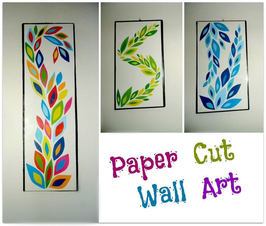 Diy paper cut wall art scale diy paper and craft for Wall decoration with paper