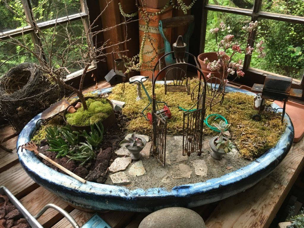 Gorgeous Rustic Garden Potting Shed - Take a Tour | Rustic gardens ...