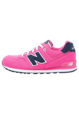 Roze Sneakers New Balance KL574 Sneakers laag roze Kinder ...