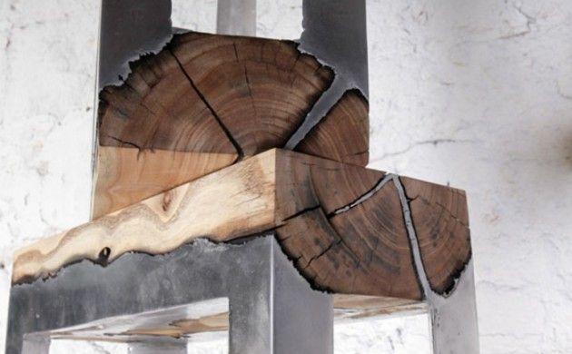 Diy Möbel Und Wohnaccessoires Aus Holzklötzen Einrichten Wohnen