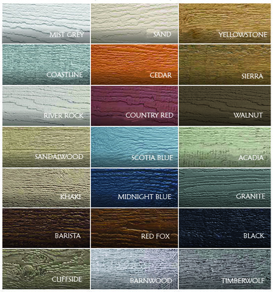 Canexel Hawthorn Timber Vinyl Siding Colors Exterior