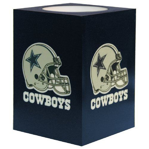 NFL Dallas Cowboys Square Flameless Candle by Northwest ...