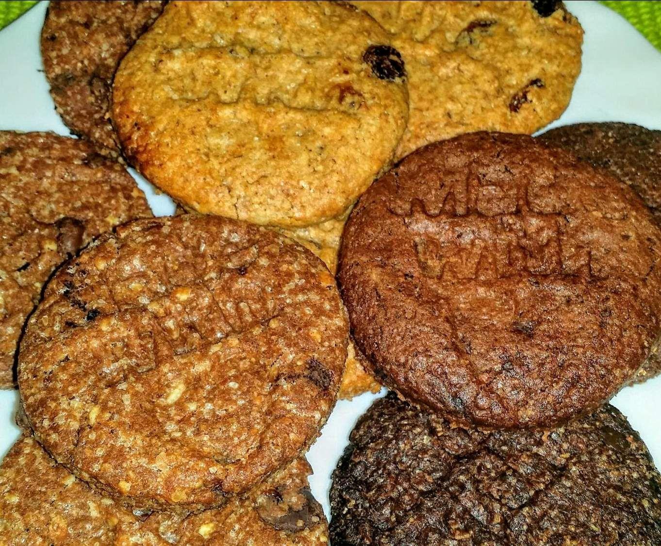 Ricetta Biscotti integrali IRRESISTIBILI Cookies per