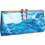 Pool party clutch by Kate Spade