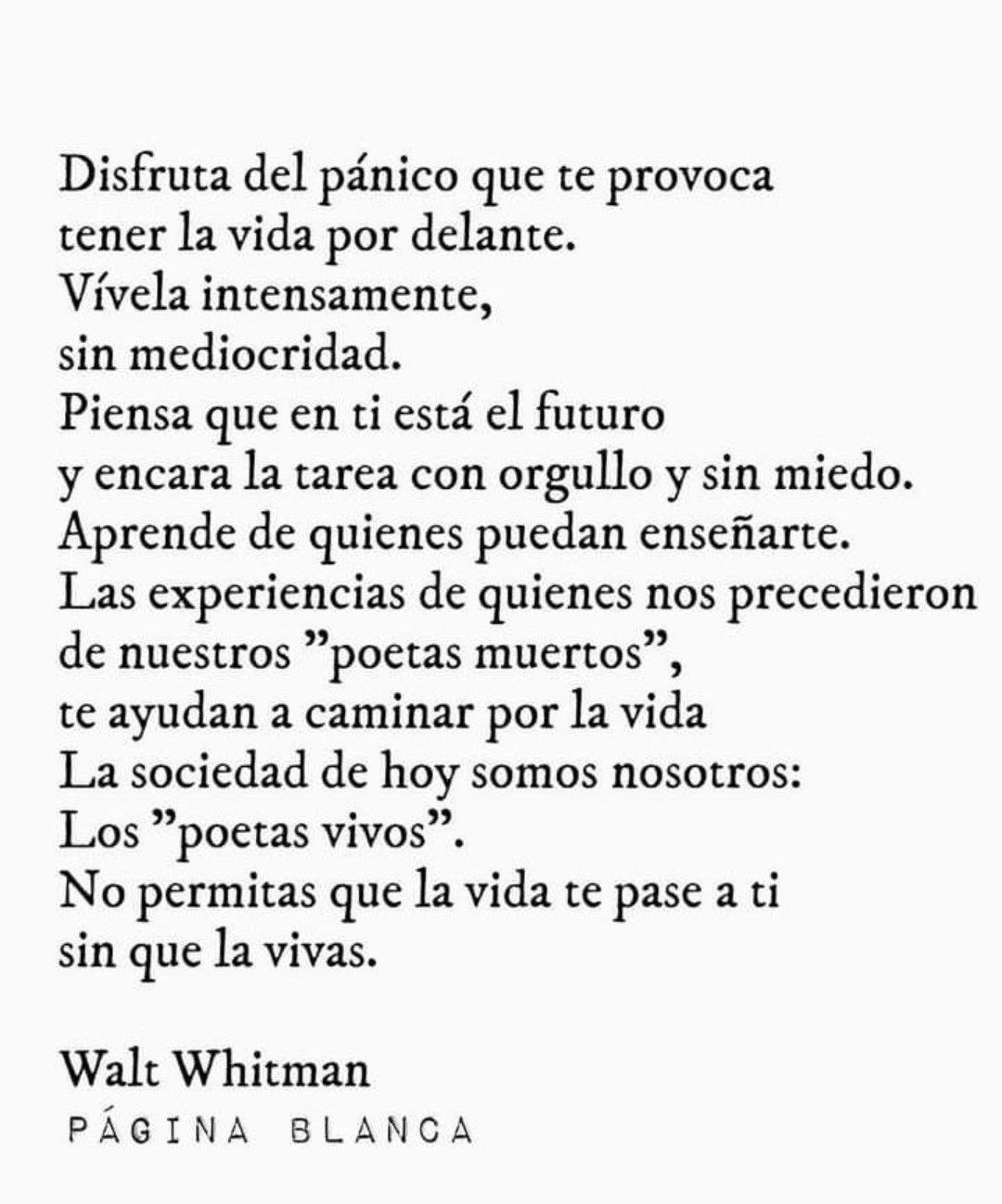 Pin De Luisa Fernanda En Quotes Poetas Muertos Pensandote Intenso