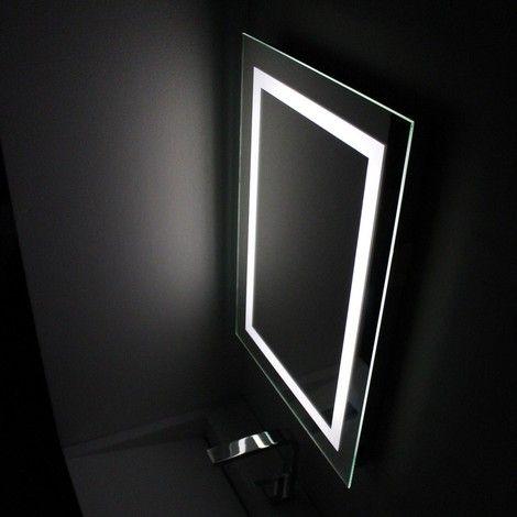 Miroir Simple De Salle De Bain Miroir Salle De Bain Salle De Bain Eclairage Led