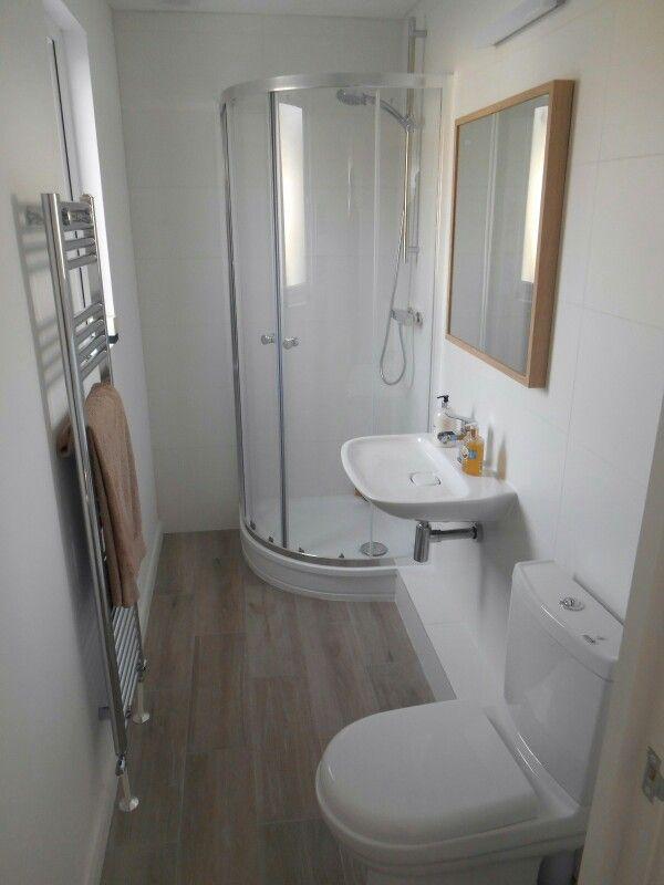 Narrow en-suite   Shower room, Half bath remodel, Small ...
