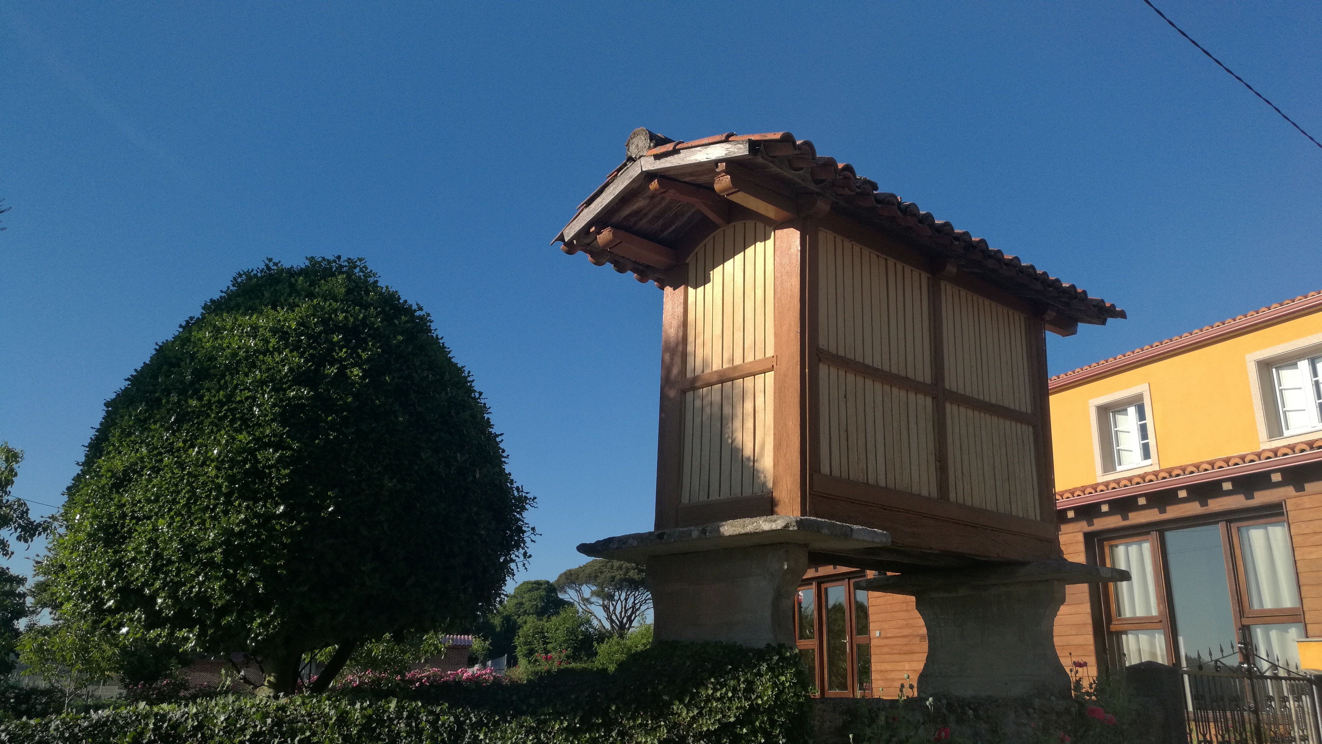 Típico pazo Gallego en Boente