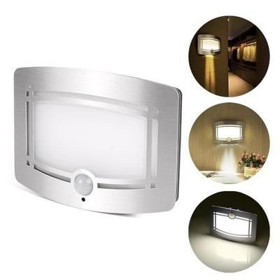 lampe activées par des détecteurs de mouvement à piles a l'éclairage de nuit sans fil auto sur / de couloir pathway garage escalier
