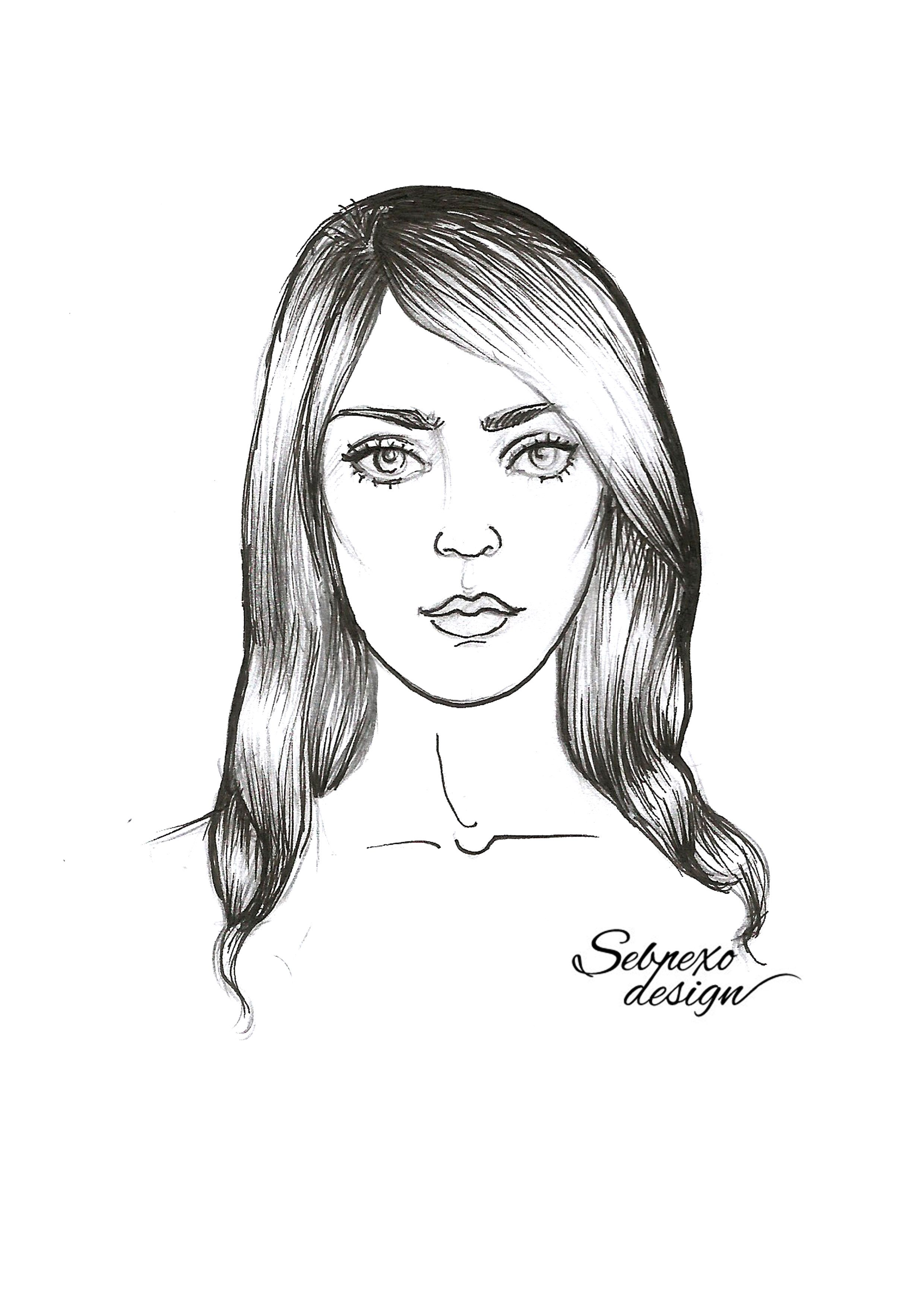 Face drawing fashion illustrations portrait female drawing face drawing fashion illustrations portrait female drawing fashion portrait moda izimi reviewsmspy