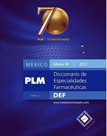 plm diccionario de especialidades farmaceuticas 2012