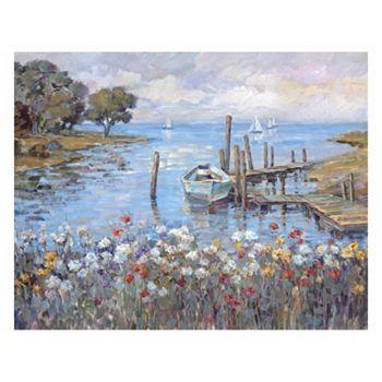 ''Meadow Dock'' Canvas Wall Art