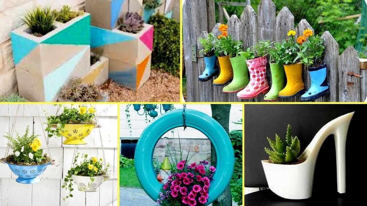 50 Creative Garden Flower Pot Ideas 2017 Creative Diy Flower
