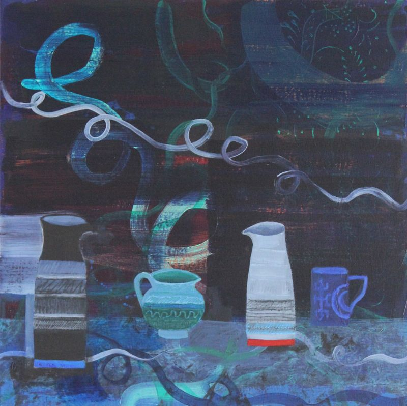 Indigo Still Life by Jane Telford