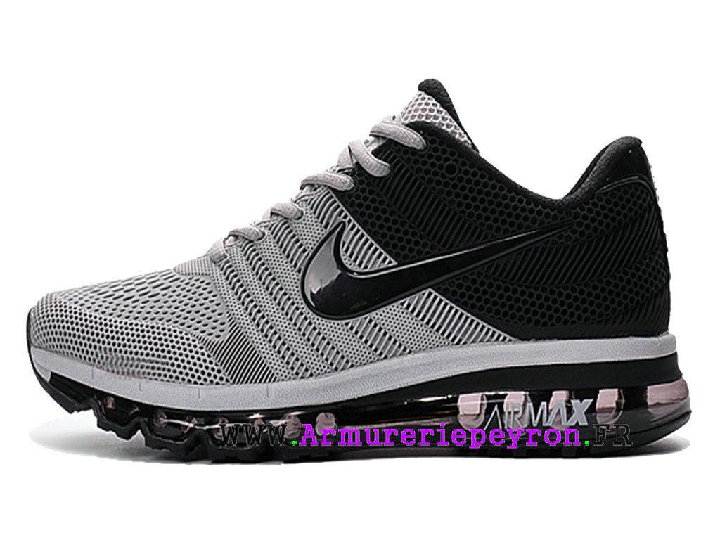 Nike Air Max 2017 Boutique officielle Chaussures Goutte à goutte Basketball  Homme Noir   Gris Argent bbcfb7283119