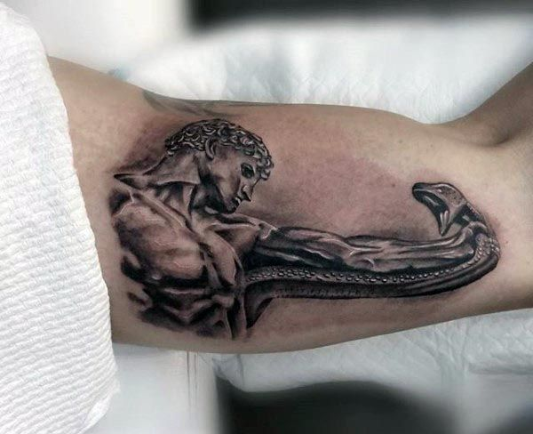 6e4a59143 90 Bicep Tattoos For Men - Masculine Muscle Design Ideas | Tattoo ...
