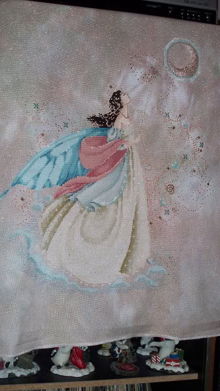 Mirabilia's Fairy Moon | Nora Corbett - Mirabilia | Cross stitch