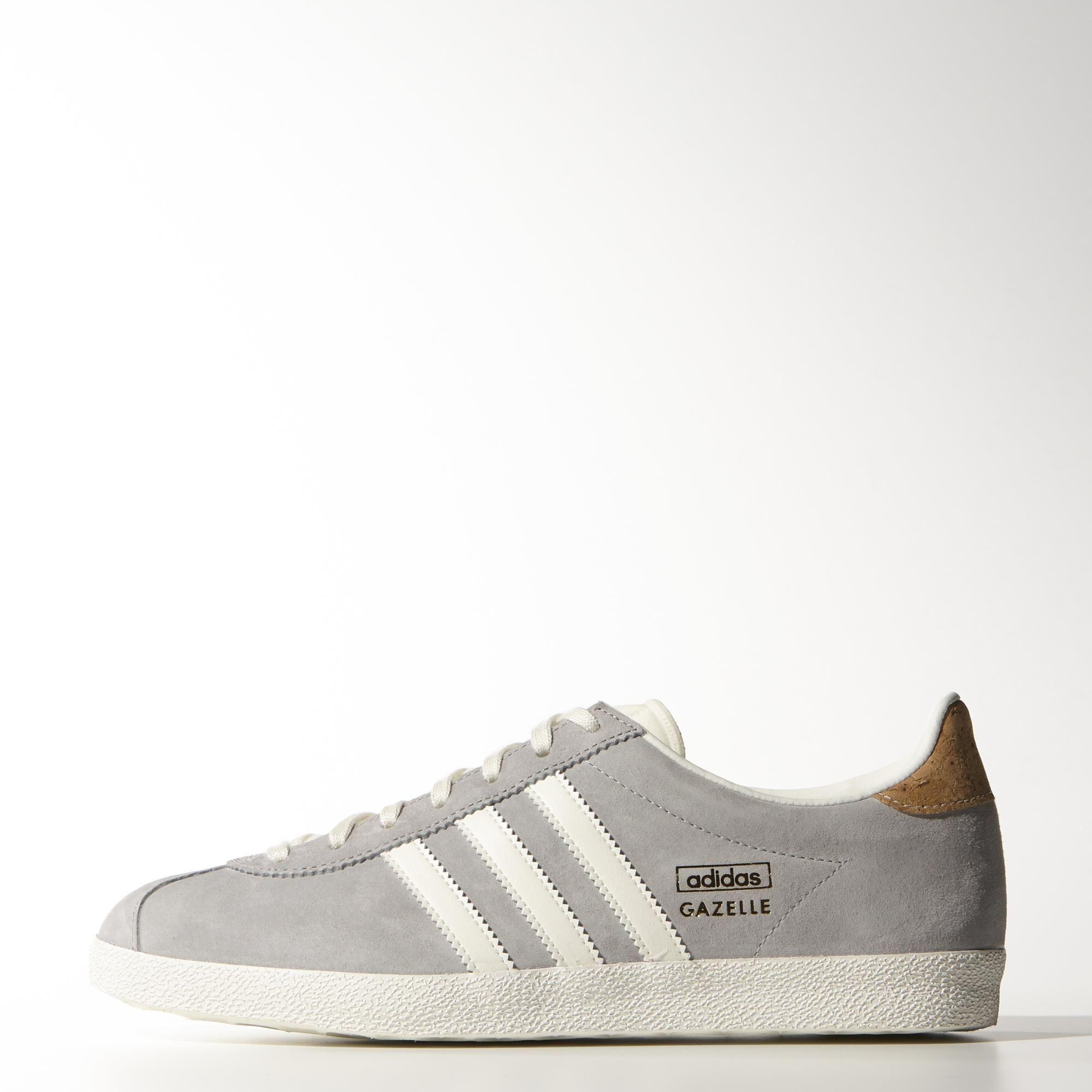 adidas gazelle og shoes grey white