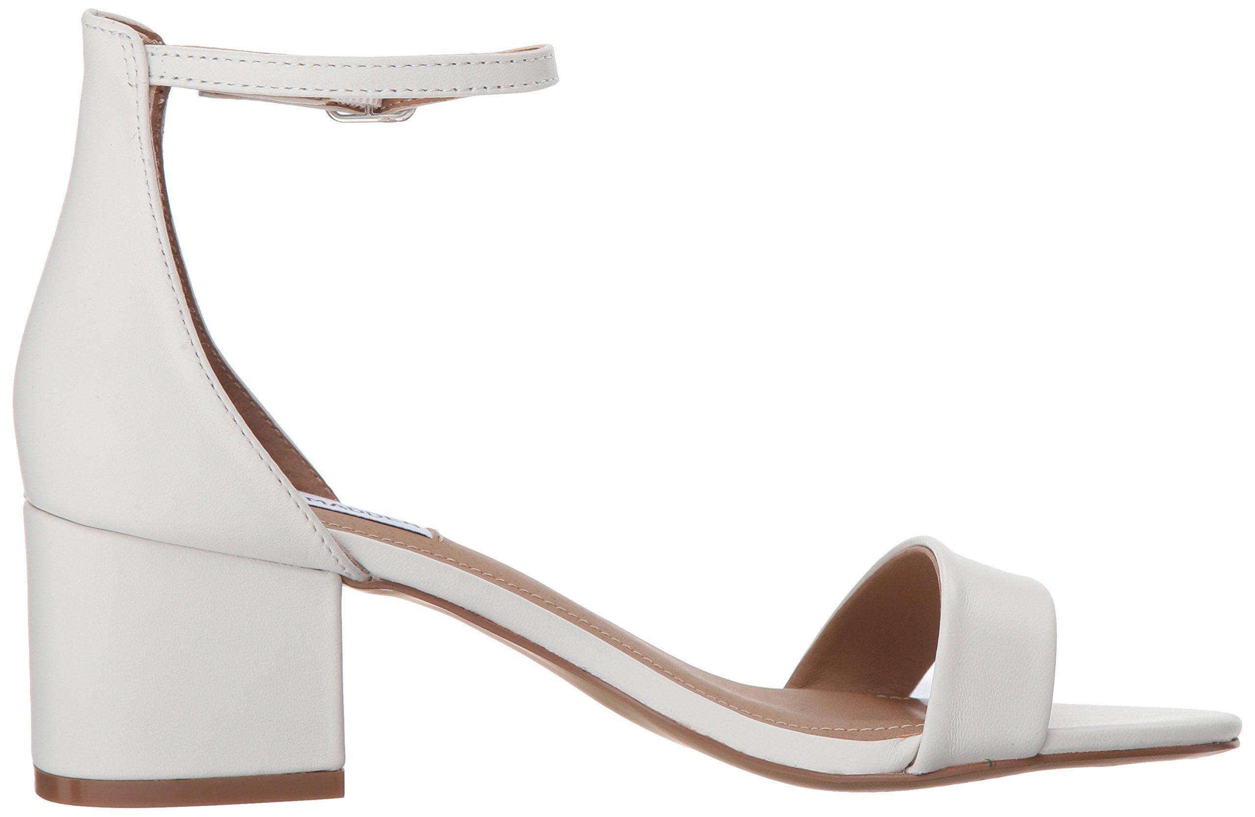 steve madden irenee sandal white