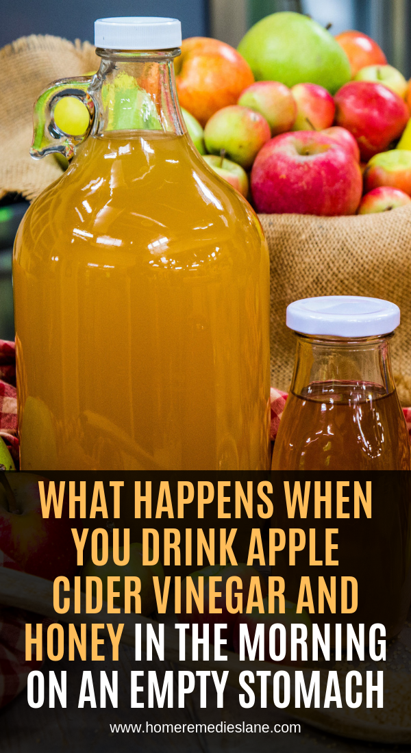 What Happens When You Drink Apple Cider Vinegar And Honey In The Morning On An Empty Stomach Apple Cider Apple Cider Vinegar Apple Cider Vinegar Drink