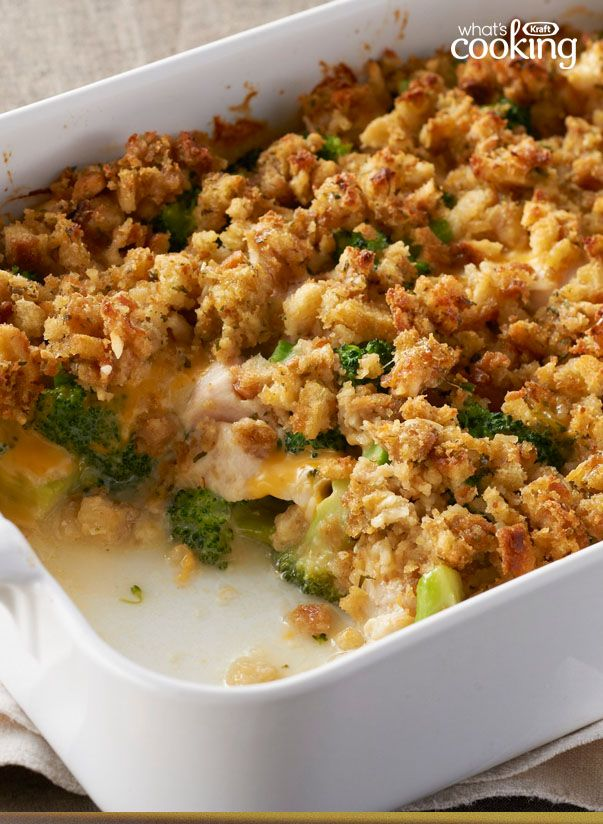 Stove Top Easy Cheesy Chicken Bake Recipe  Baked Chicken -2504