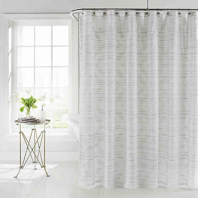 Coopers Beach Shower Curtain In White Bed Bath Beyond In 2020