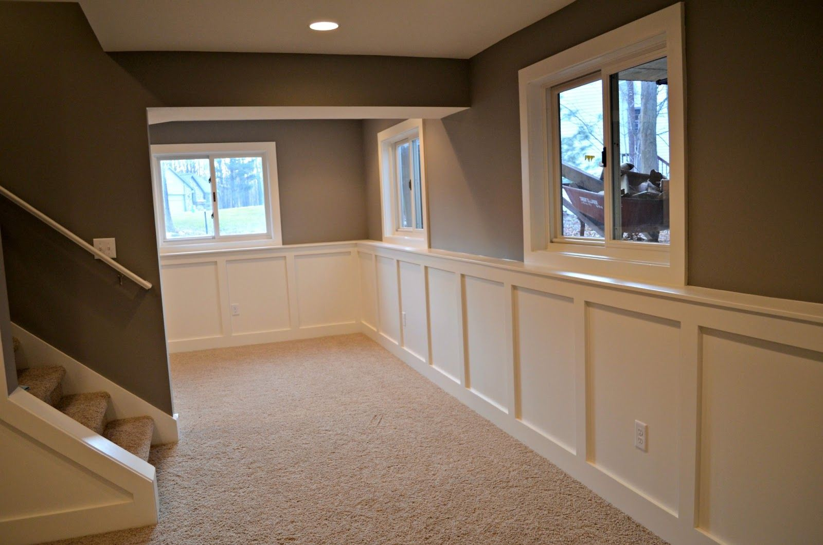 good basement paint colors | maximized the space down here and allowed for three really great & good basement paint colors | maximized the space down here and ...