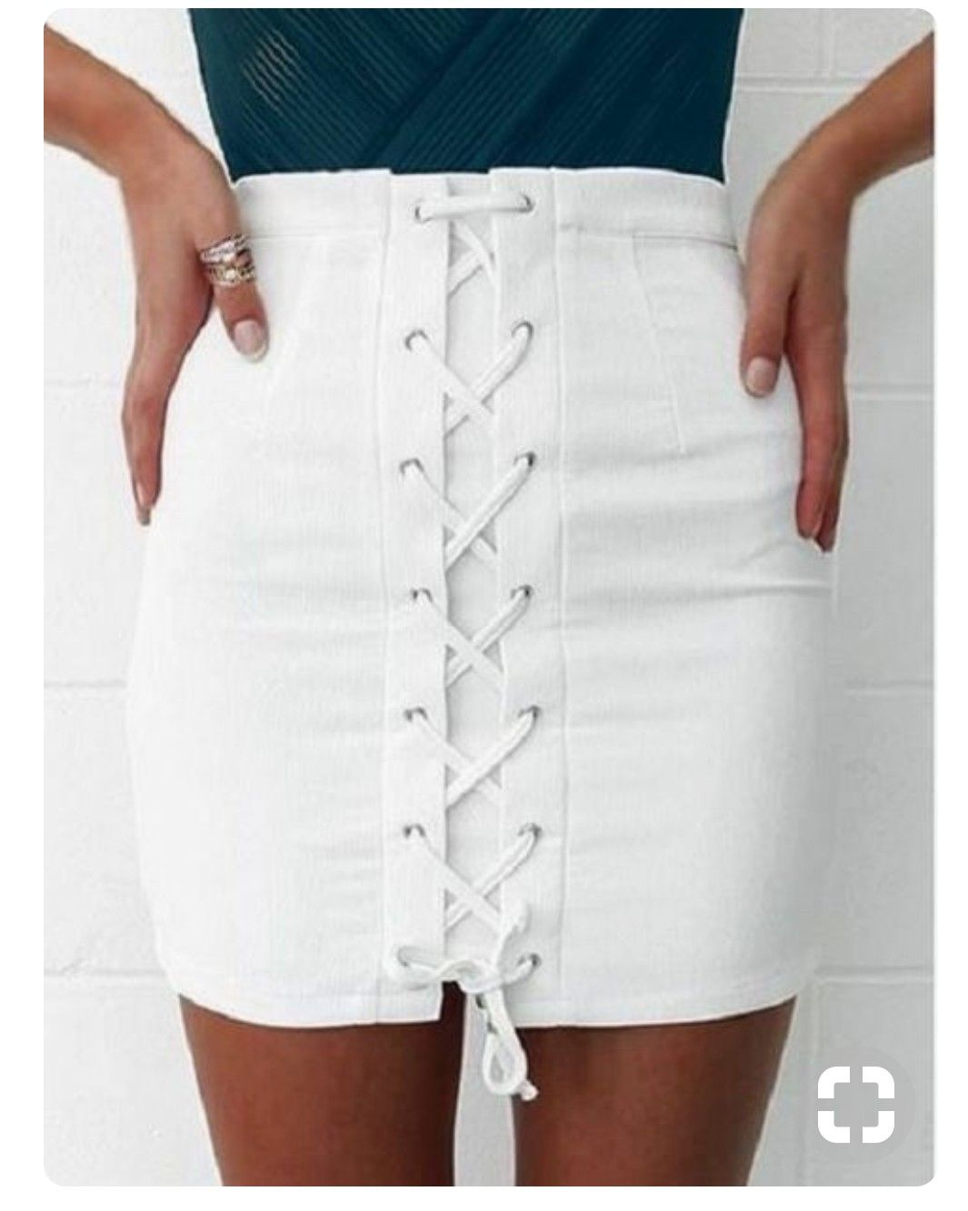 f39f2e2aeb4fb insta & pinterest @kenziemxller   style in 2019   Lace up skirt ...