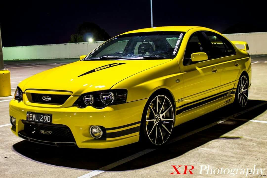 Fpv Gt Ba 2005 Ford Falcon 5 4l Quad Cam Boss V8 Aussie Muscle Cars Ford Gt Ford Falcon