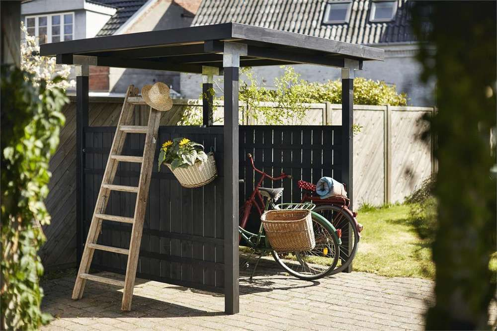 CUBIC Fahrrad Unterstand   Fahrrad unterstand, Garten ...