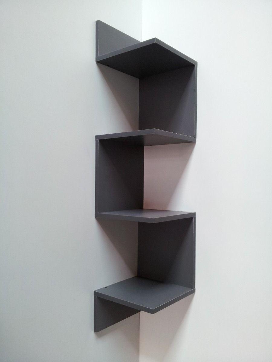 Repisas modernas minimalistas esquineras departamento - Repisas de pared modernas ...