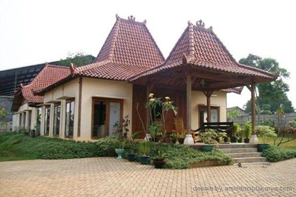 Desain Rumah Jawa 600x400