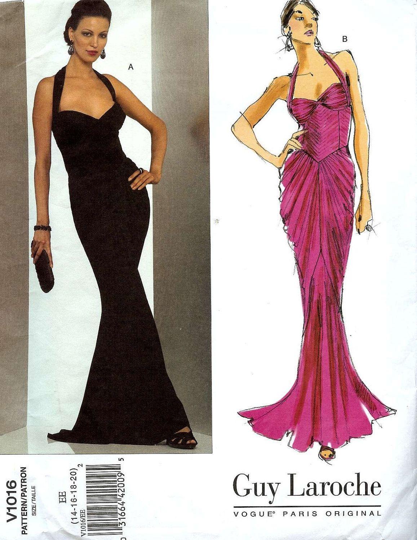 Mermaid Dress Pattern : mermaid, dress, pattern, Mermaid, Pattern, Design, Ideas, Dress, Pattern,, Vogue, Patterns