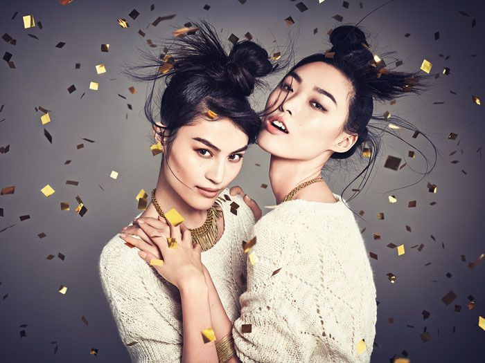 SUI HE & TIAN YI FOR H&M CHINA - NEW YEAR CELEBRATION