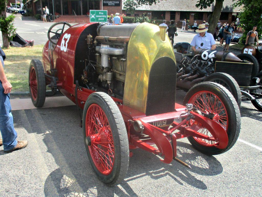 Fiat S76 Record 1910 Automoviles